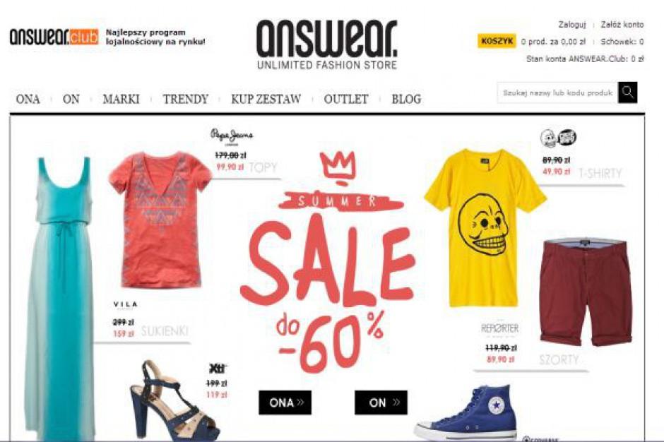 Właściciel Frisco.pl inwestuje w e-sklep Answear.com