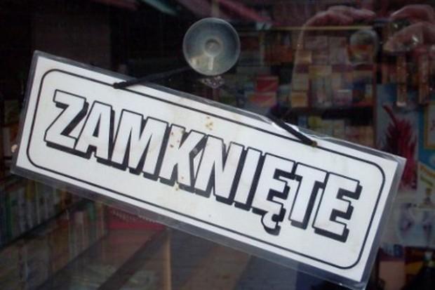 W ciągu czterech miesięcy zamknięto w Polsce 14 tys. sklepów