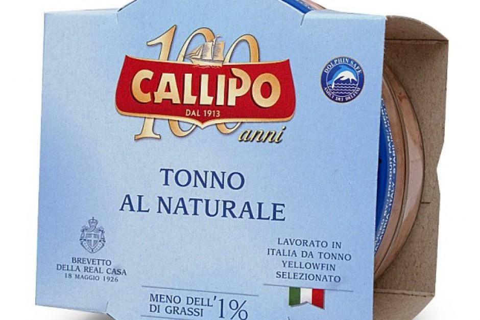 Włoski Tuńczyk Callipo w sosie własnym