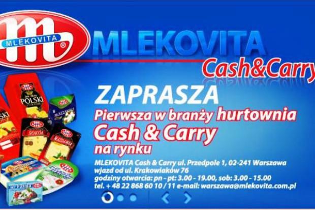 Mlekovita otwiera hurtownię Cash and Carry