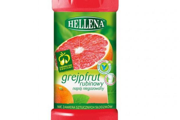 Nowy smak w ofercie napojów niegazowanych marki Hellena