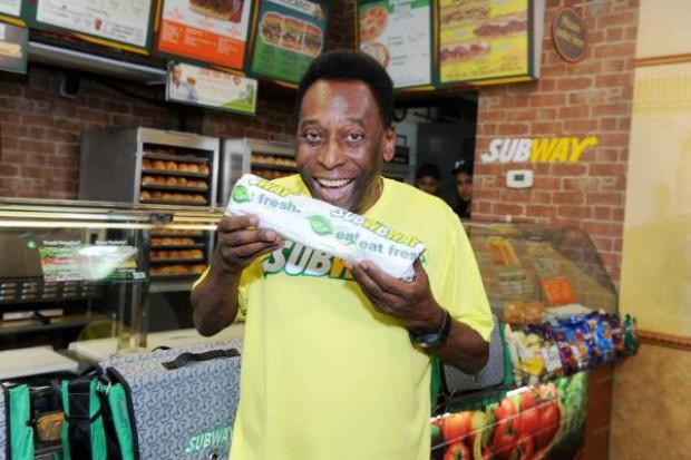Pelé nowym globalnym ambasadorem marki Subway