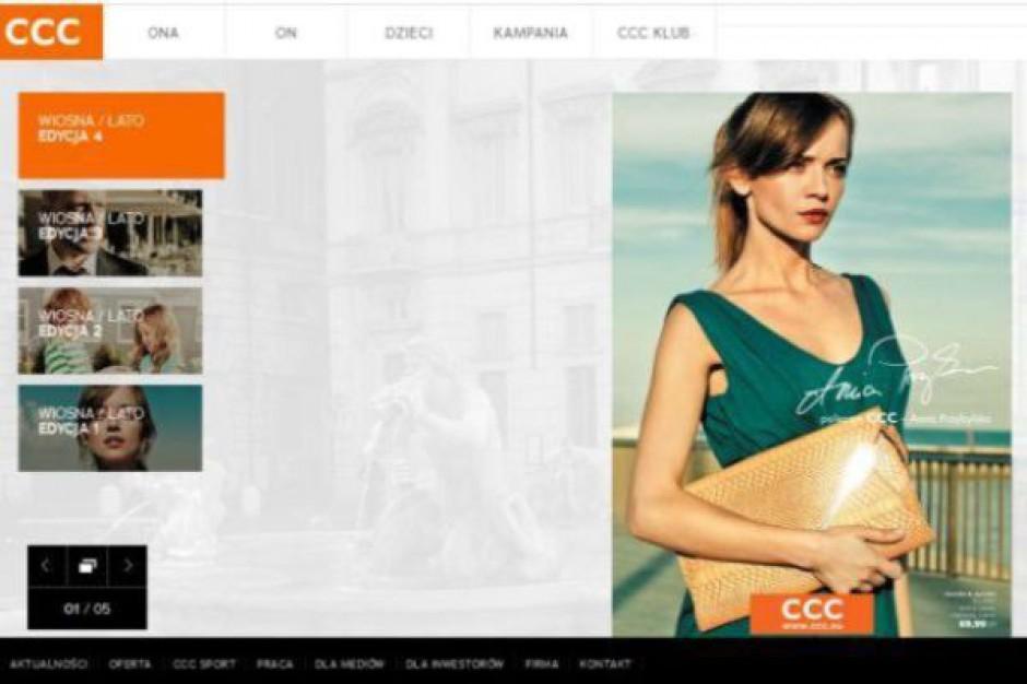 CCC na otwarcie nowych sklepów wyda około 100 mln zł