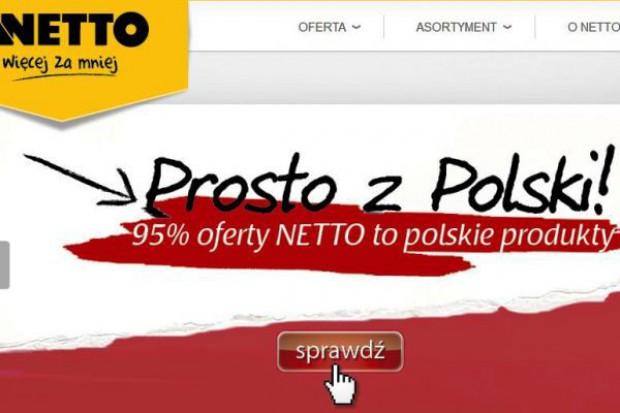 """Netto stawia na """"polskie produkty"""""""