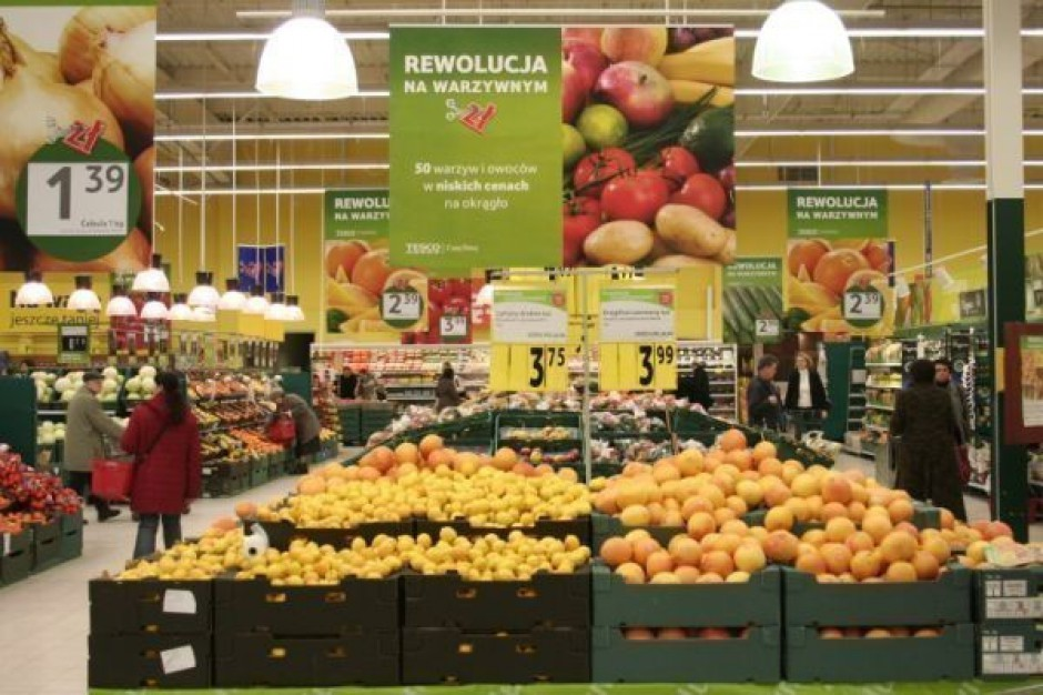 W 2013 roku rynek artykułów spożywczych osiągnie wartość ponad 233 mld zł