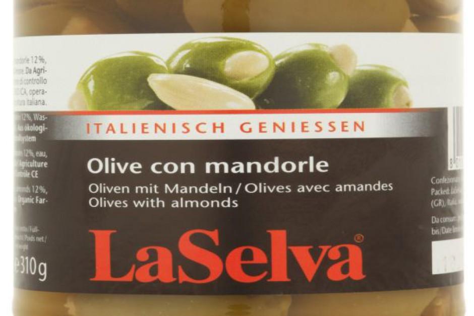 Oliwki zielone z migdałami Bio LaSelva