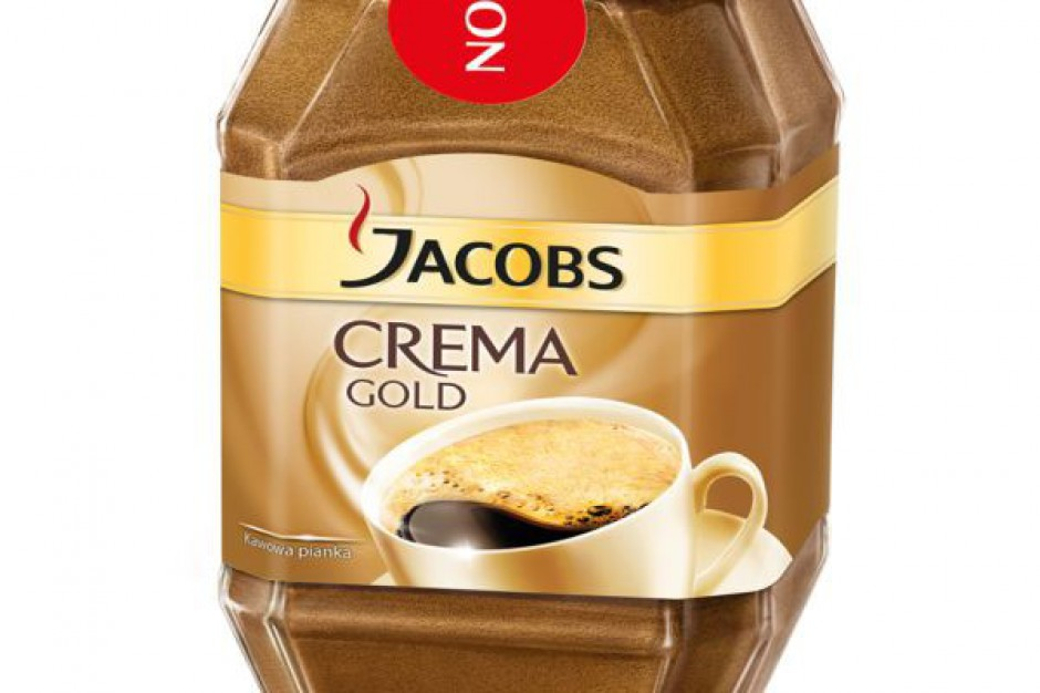 Jacobs Crema Gold - nowość od Jacobs Cronat Gold