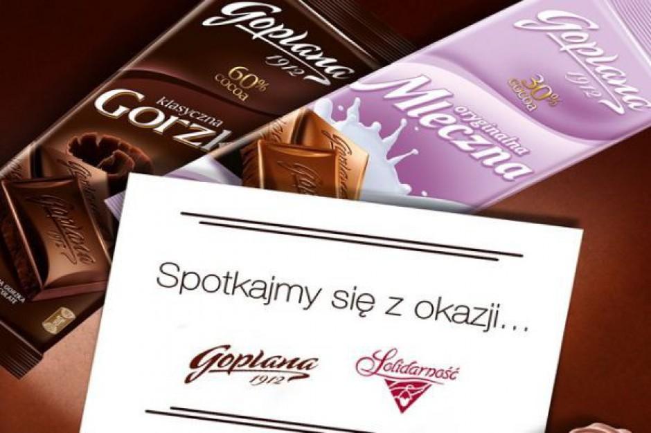 Ruszyła wspólna promocja słodyczy Goplana i Solidarność