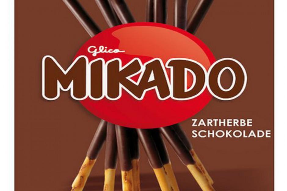 Mikado Paluszki w ciemnej czekoladzie