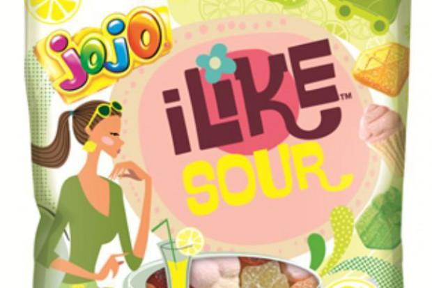 Kwaśne żelki JOJO iLike Sour od Nestlé