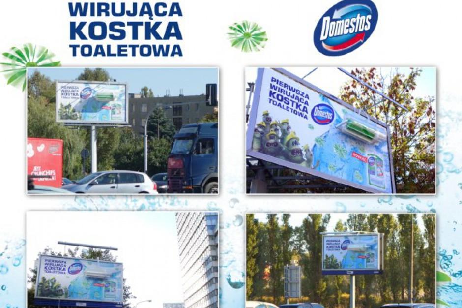 Nietypowa kampania marki Domestos