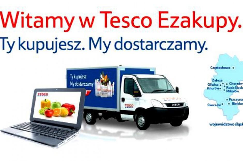 Coraz mniejsze miasta na celowniku e-sklepu Tesco