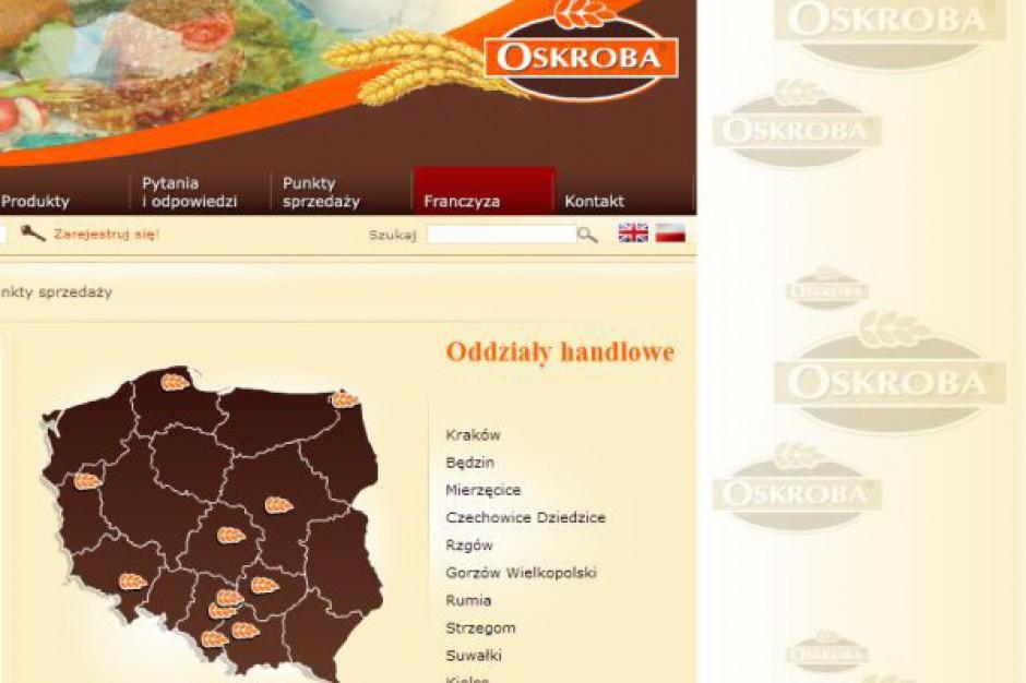 Piekarnie Oskroba na koniec roku chcą mieć 130 sklepów piekarniczych