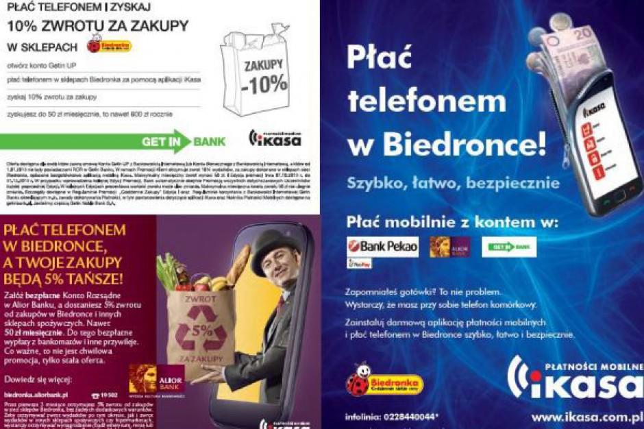 Biedronka oficjalnie rusza z płatnościami mobilnymi