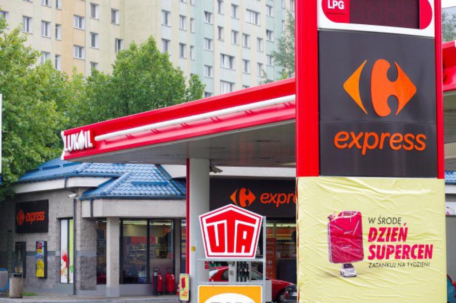Hipermarkety mają 2,4 proc. udziału w rynku stacji paliw