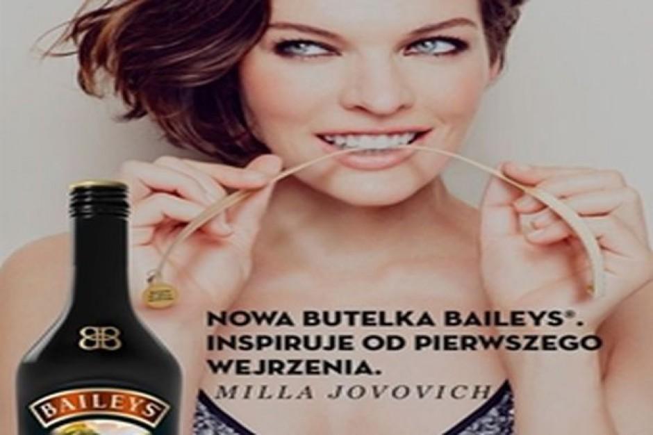 Likier Baileys z bransoletką projektu Milli Jovovich