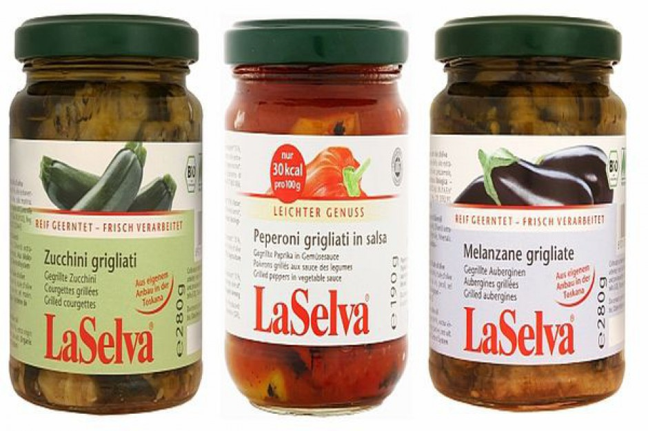 Grillowane warzywa od LaSelva