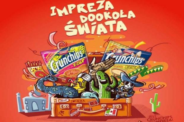 Konsumencka promocja chipsów Chrunchips