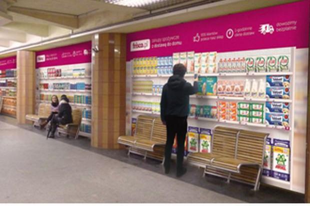 Frisco.pl uruchomiło pierwszy w Polsce e-supermarket w metrze