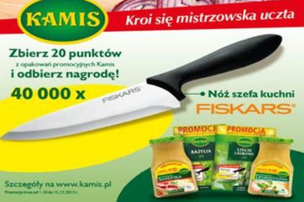 Promocje konsumenckie marki Kamis