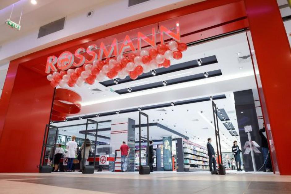 Rossmann ma 800 drogerii w Polsce. Celuje w 1000. w 2015 roku