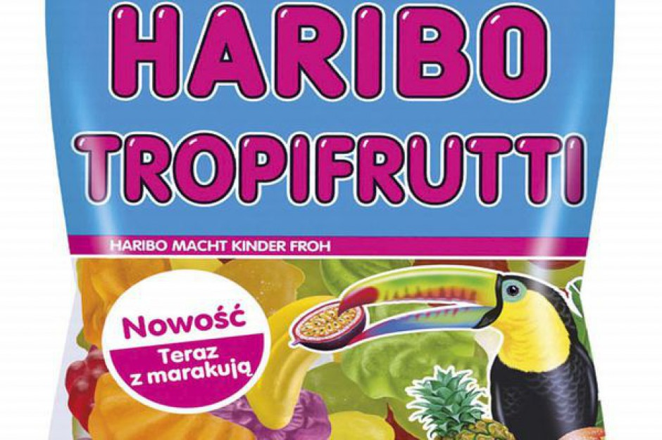 Tropikalne Haribo Tropifrutti