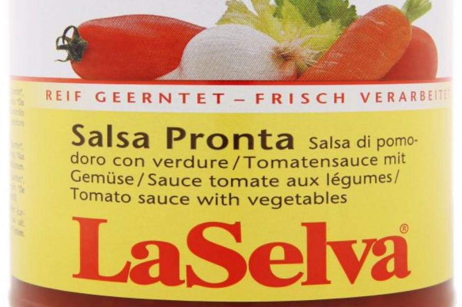 Nowość LaSelva - Sos pomidorowy Salsa Pronta z warzywami BIO