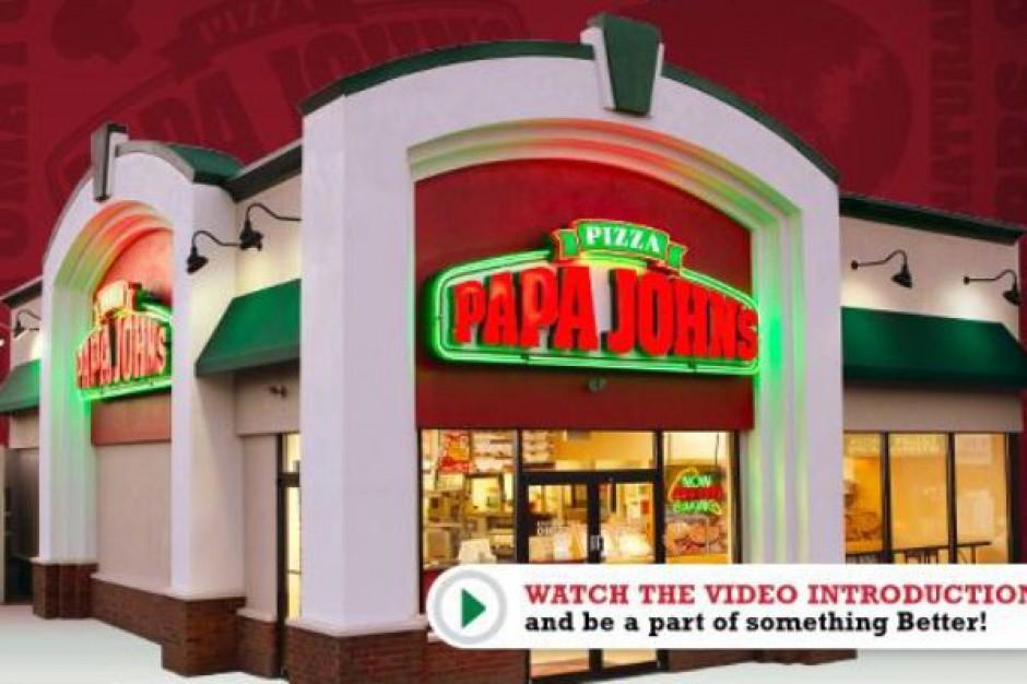 Sieć pizzerii Papa Johns szuka masterfranczyzobiorcy w Polsce