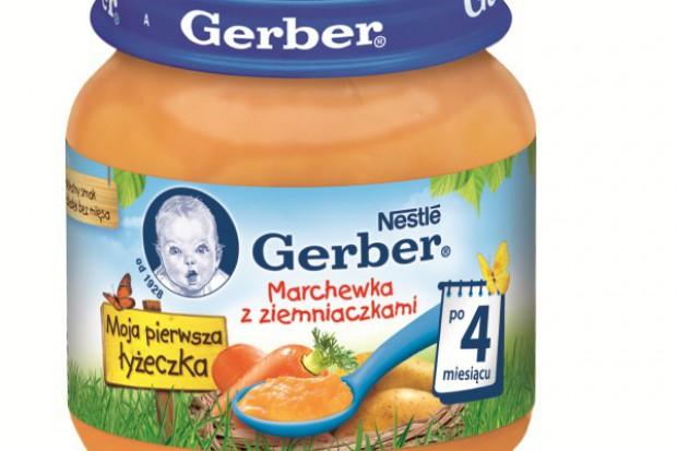 Nowość od Gerber: Marchewka z ziemniaczkami dla maluchów