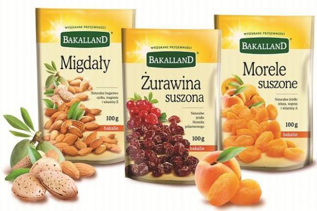 Produkty Bakalland w nowych opakowaniach