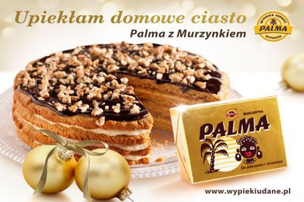 Domowe ciasto w świątecznej kampanii Palmy z Murzynkiem