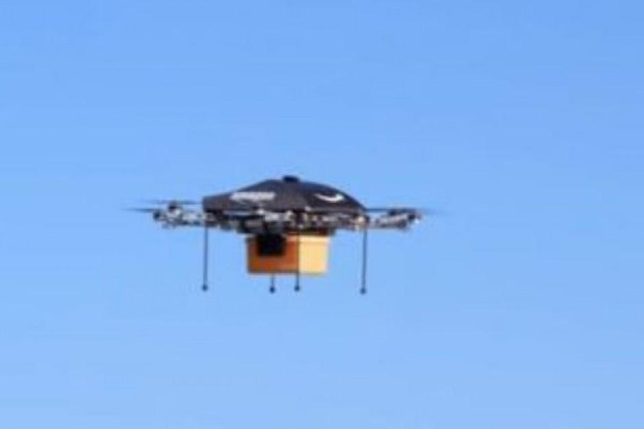 Amazon.com testuje samoloty bezzałogowe do szybkich dostaw