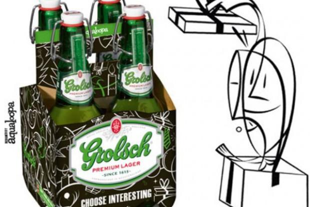 Piwo Grolsch w świątecznych czteropakach
