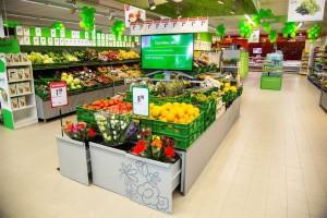 Stokrotka jednego dnia otwiera cztery supermarkety w nowej wizualizacji