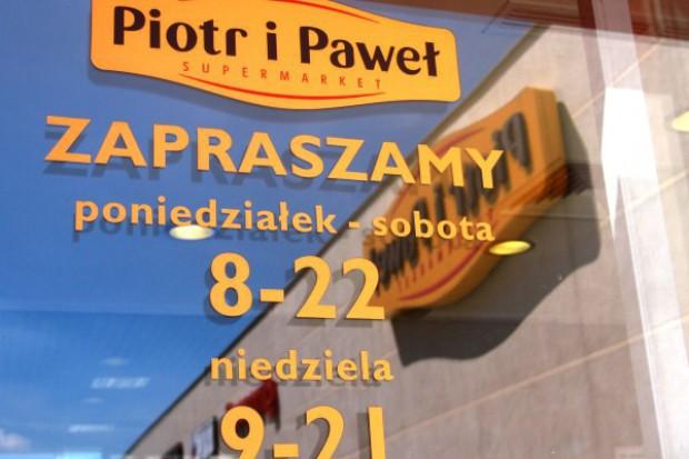 4,7-proc. wzrost obrotu sieci Piotr i Paweł
