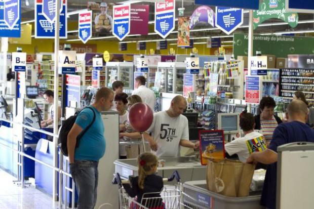 Hipermarkety zanotowały spadek sprzedaży o 5,7 proc.