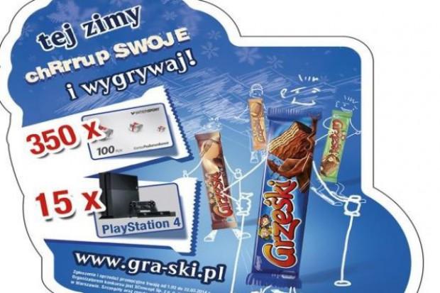 Promocja konsumencka wafelków Grześki