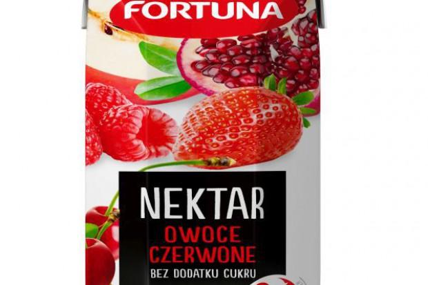 Nowość w ofercie Fortuny: linia nektarów bez dodatku cukru