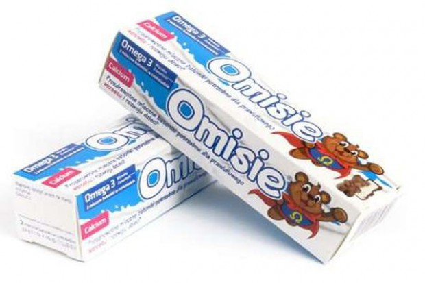 Omisie - czekoladowe pralinki z kwasami Omega 3