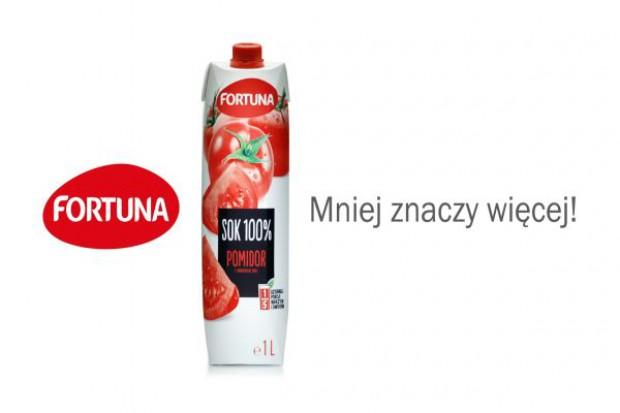 Fortuna reklamuje soki pomidorowe