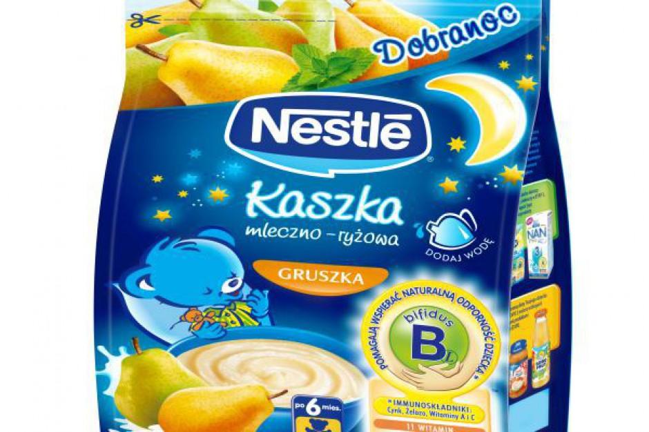 Kaszki mleczno-ryżowe Nestlé na dobranoc