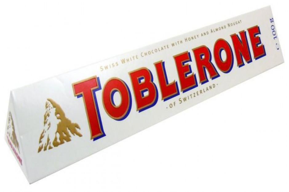 Biała czekolada Toblerone