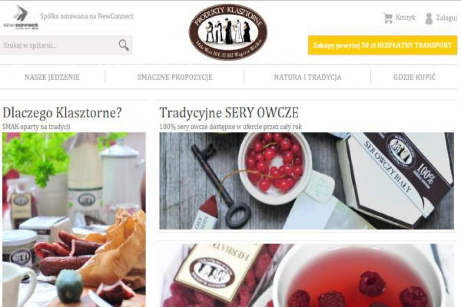 Produkty Klasztorne ruszają z e-sklepem. Nowy kanał dystrybucji ma generować 10 proc. sprzedaży