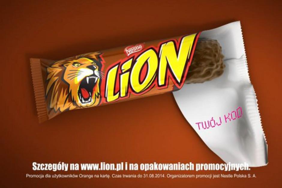 LION - baton z Internetem
