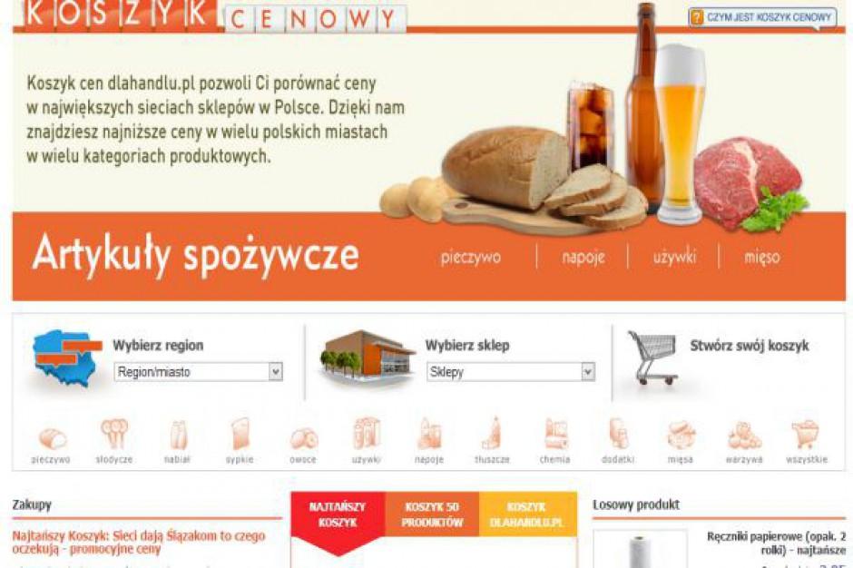 Koszyk cen: Różnice cen wśród sieci hipermarketów sięgają ok. 40-50 zł