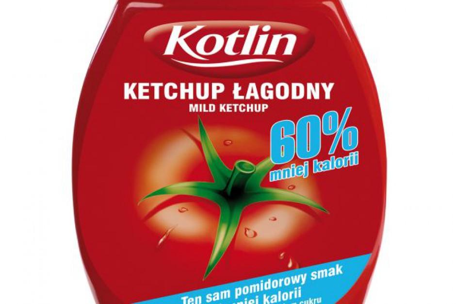 Nowy wariant ketchupu łagodnego marki Kotlin