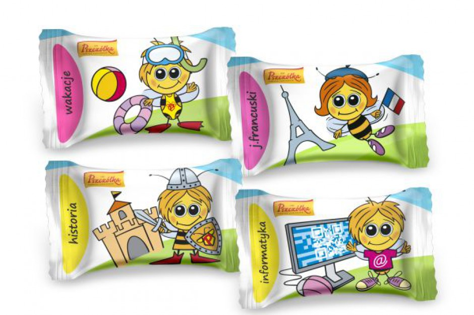 Super P! w szkole - nowe cukierki od Pszczółki