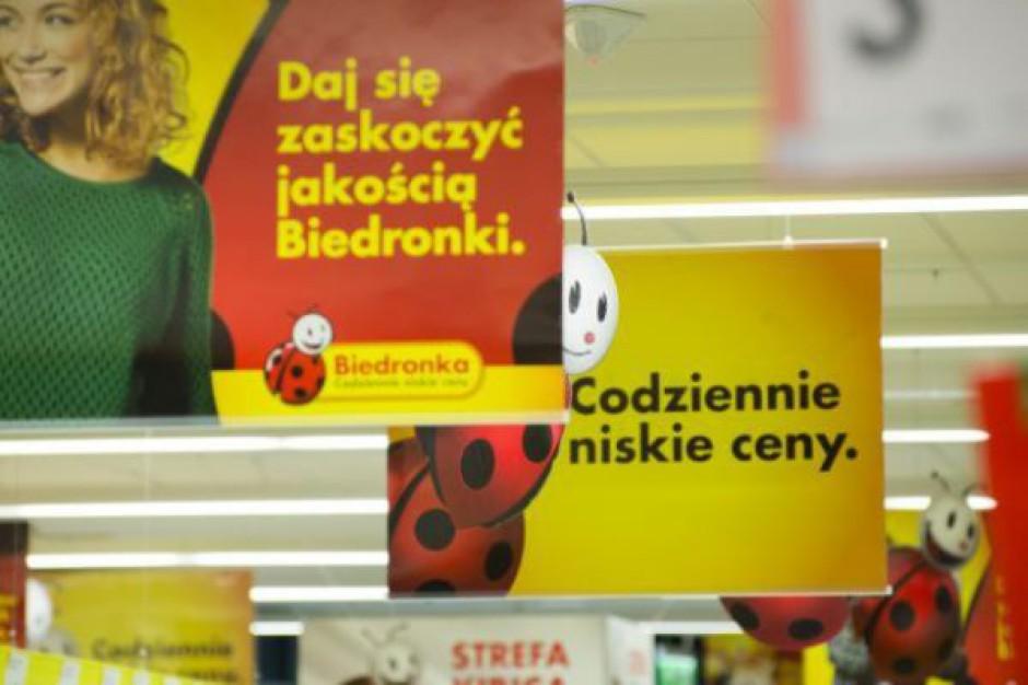 W pierwszym kwartale br. Biedronka otworzyła 19 sklepów, zamknęła 7