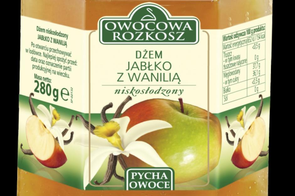 Dżem jabłkowy z wanilią od Scandic Food