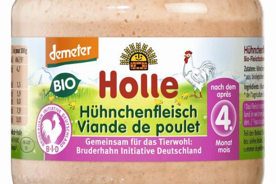 Holle Kurczak BIO - danie mięsne dla niemowląt